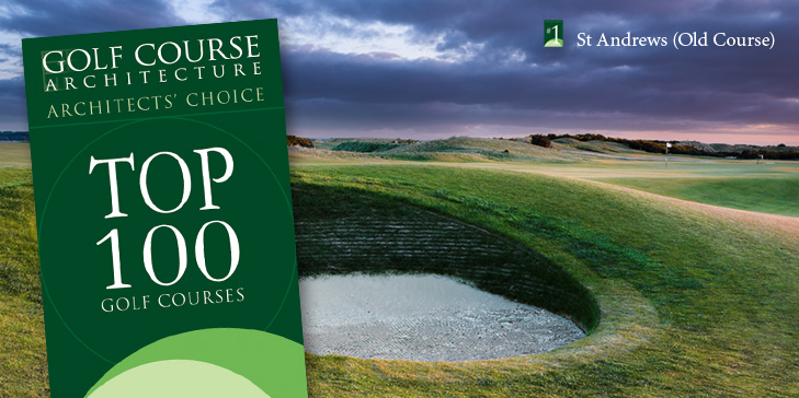 Architects' Choice Top 100 Golf Courses