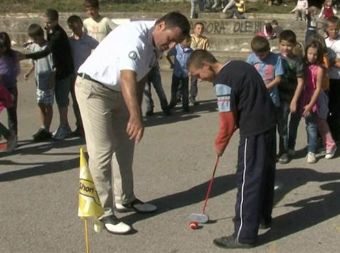Montenegro developer launches golf in schools programme