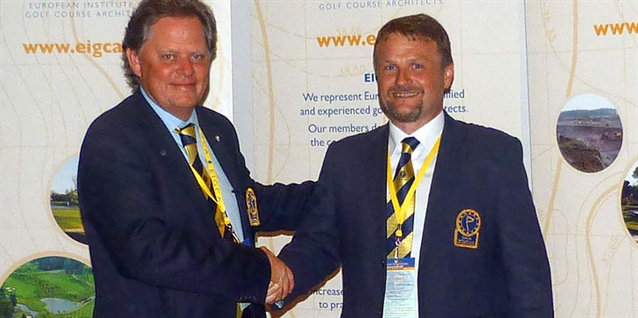 Tom Mackenzie named as new president of the EIGCA