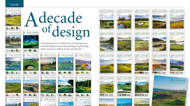 A decade of golf design: industry figures reflect on the past ten years