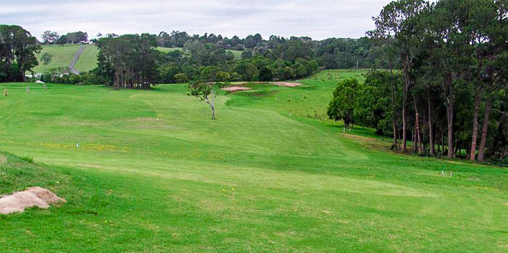 Nine holes designed by Graham Papworth open at Maleny Golf Club