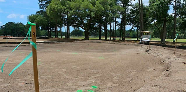 Renovations continue at Bacon Park as work on back nine begins