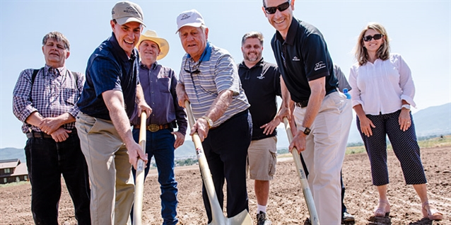 Ground broken on 12-hole Jack Nicklaus Golf Park at Red Ledges