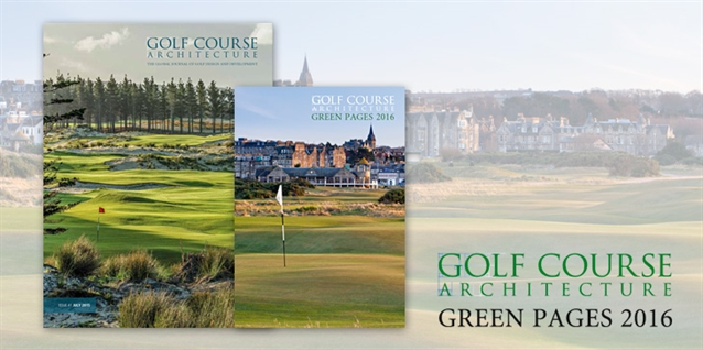 Golf Course Architecture announces next edition of buyers' guide