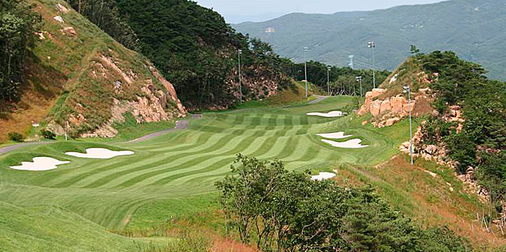 Huxham Golf Designs creates new 18-hole golf course in South Korea