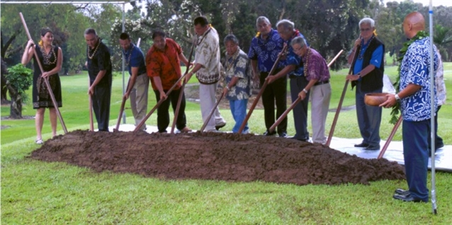 Major project gets underway at Hilo Municipal Golf Course