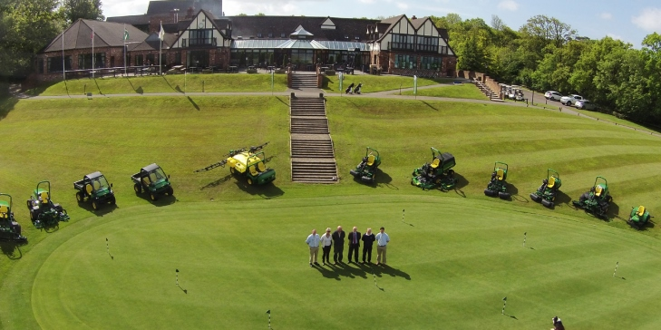 Woodbury Park Golf Club adopts fleet of John Deere equipment