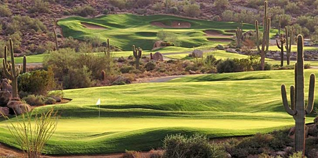 Renovation project carried out at SunRidge Canyon Golf Club course