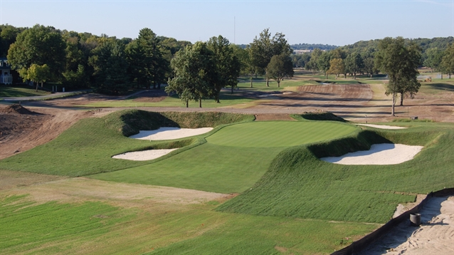 Renovation work nears completion at Moraine Country Club course