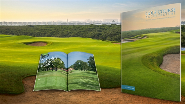 The new issue of Golf Course Architecture is out now