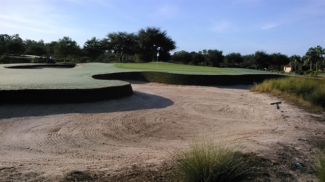 Durabunker enhances sustainability of bunkering at Tiburon Golf Club