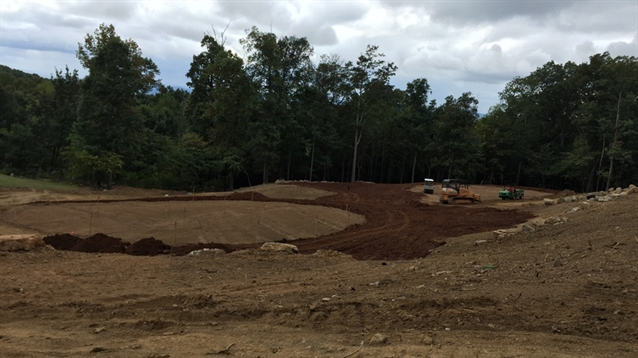 Construction of new short game academy nears completion at The Ledges