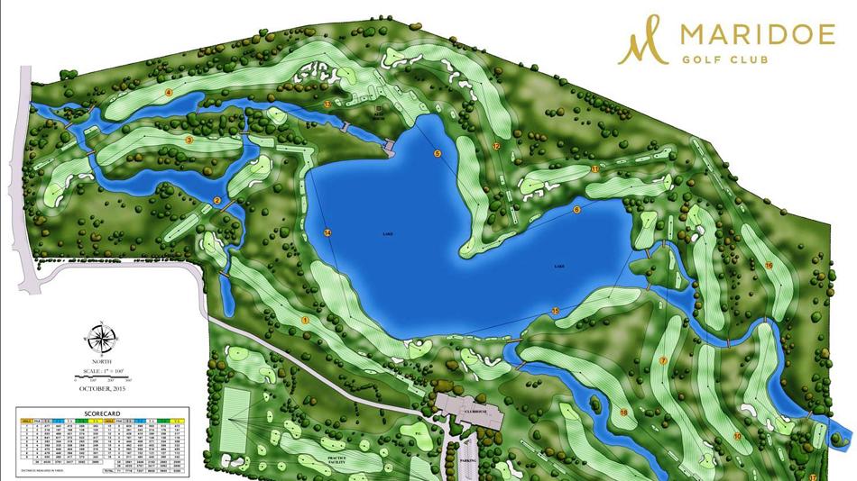 Construction of new Maridoe Golf Club course gets underway  Maridoe