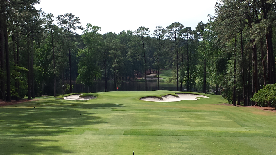 Kris Spence leads major project at Country Club of North Carolina