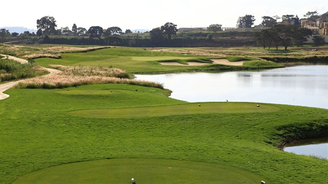 First nine holes open at new Ugandan golf resort on Lake Victoria