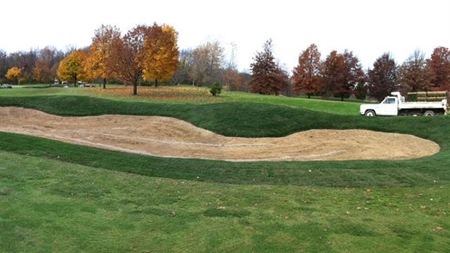 Ron Kern leads bunker remodeling project at Pebble Brook's North Course