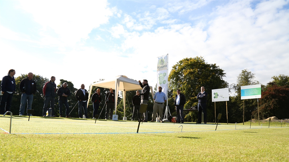 Bayer demonstrates new fungicide formulations at STRI research day