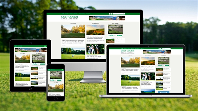 A brand new look for the Golf Course Architecture website