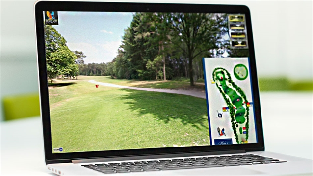 360-degree imaging technology helps showcase golf course design