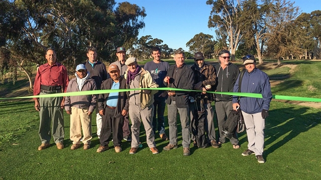 Goat Hill Park course grand reopening takes place following renovations