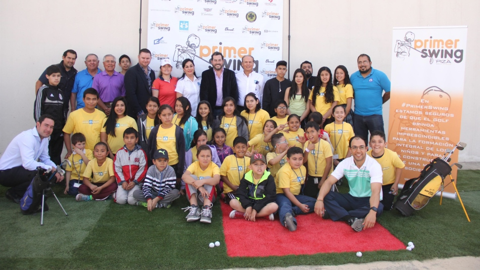 Architect Pizá launches scheme to expose underprivileged kids to golf