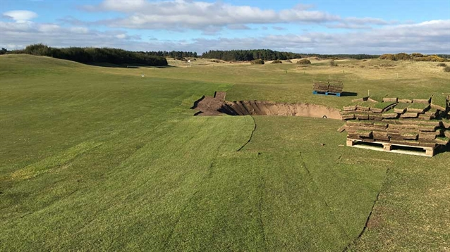 Project to reshape three greens at Dundonald Links reaches completion