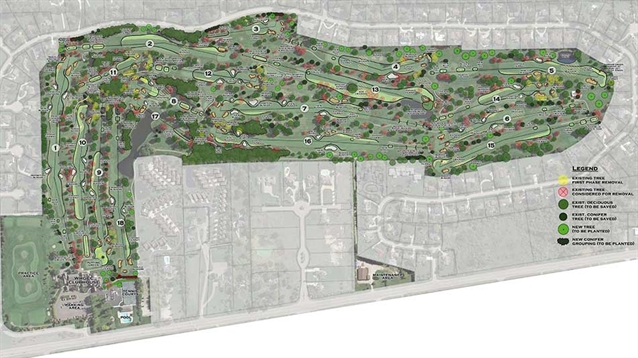 Chris Wilczynski creates masterplan for Warwick Hills G&CC course