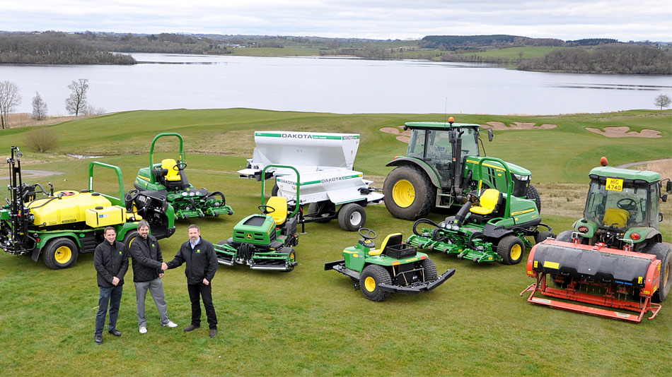 Lough Erne purchases new fleet of John Deere machines