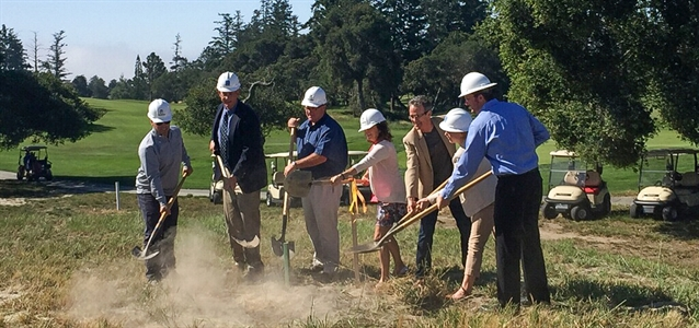 Work gets underway on Pasatiempo GC irrigation and water project