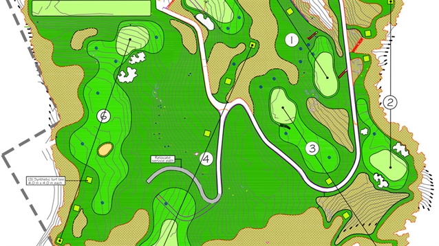 New six-hole course to be built in Hong Kong using synthetic turf
