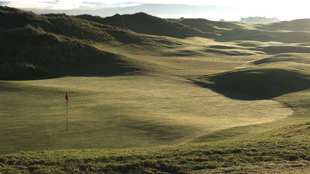 Improving the old Machrie links out of all recognition?