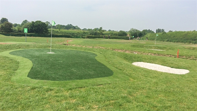 FootGolf course designed by Swan Golf Designs opens for play
