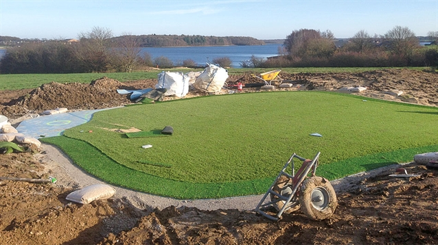 Construction of new nine-hole course and golf facility completed in Belgium