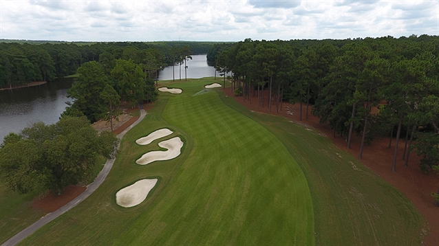 Spence Golf completes renovation work at the CC of North Carolina