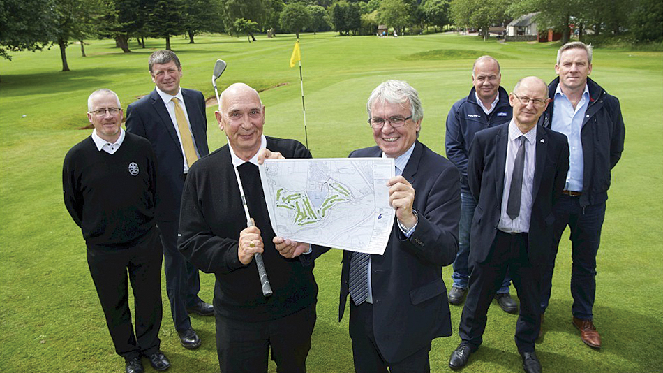 Construction of new Torvean course begins today