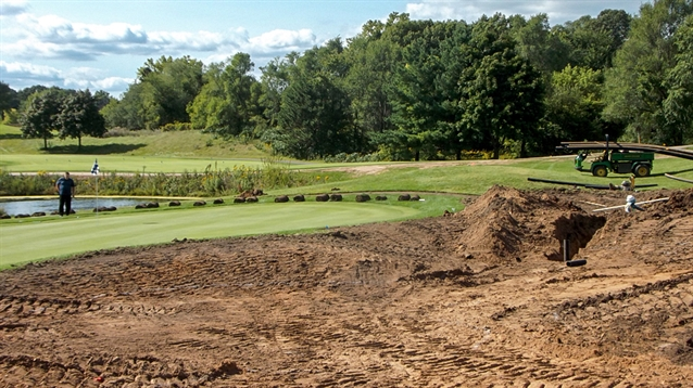 Kevin Norby leads renovation work at Inver Wood Golf Course