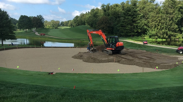 Jim Cervone discusses green renovations at Sewickley Heights GC