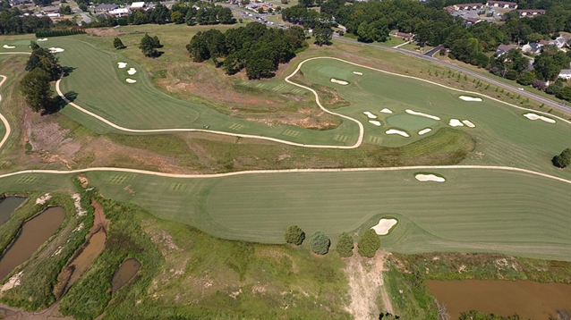 Mooresville GC course reopens following Kris Spence redesign