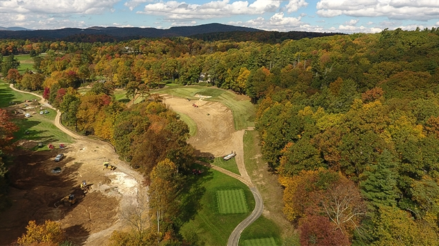 Kris Spence to add Raynor flavour to four holes at Blowing Rock