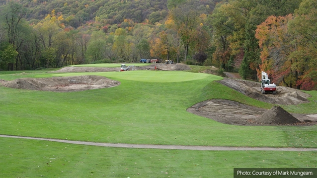 Mark Mungeam leads renovation and restoration work at Fox Hill CC