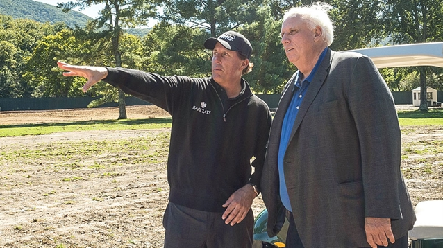 Phil Mickelson Design to upgrade the Greenbrier Course