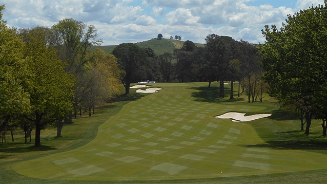 OCCM completes work on back nine holes at Royal Canberra GC