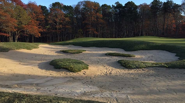 Robert McNeil reworks bunkering at two courses on Cape Cod