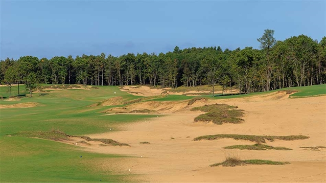 Second course at Sand Valley begins to take shape