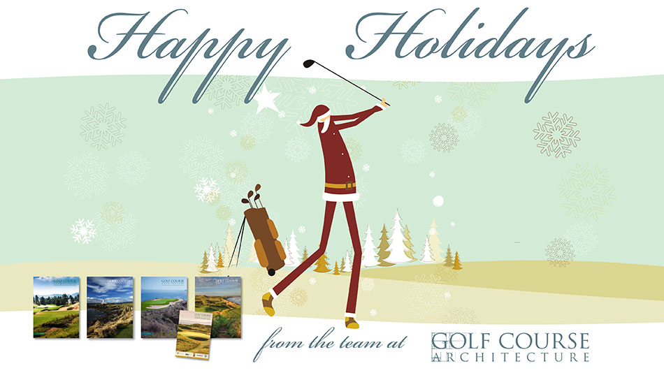 Merry Christmas from all of us at Golf Course Architecture!
