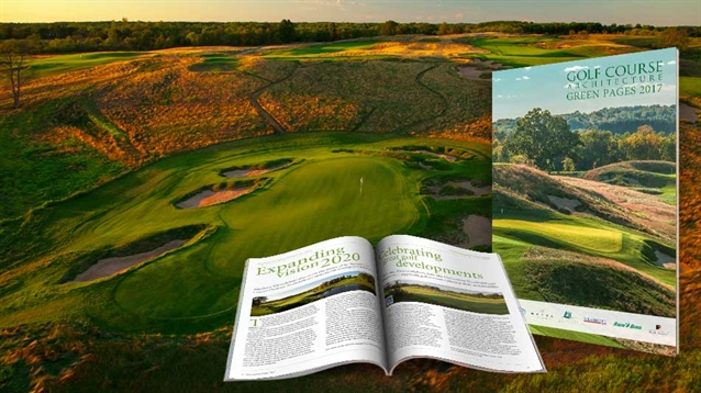Golf Course Architecture Green Pages 2017 is out now