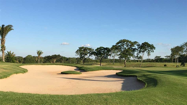 Creation of first nine holes completed at new course in Bolivia
