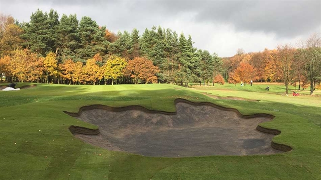 Huddersfield club completes first phase of bunker renovation