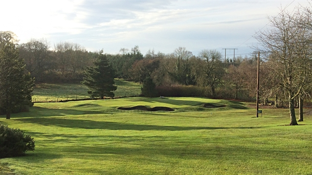 Bunker and green renovation work reaches completion at Naas Golf Club