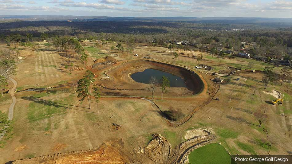 Renovations commence on Vestavia Country Club course